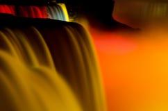 Affichage étonnant de lumière - chutes du Niagara Photographie stock libre de droits