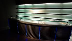 Affichage au néon moderne de bar Images stock