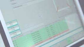 Affichage-commande industriel sur l'usine de fenêtre clips vidéos