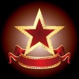 Affichage d'étoile Photos stock