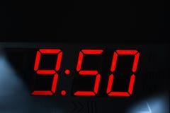 Affichage d'horloge Photos libres de droits