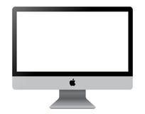 Affichage d'ordinateur d'IMAC Photo libre de droits
