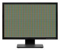 Affichage d'ordinateur ou affichage à cristaux liquides TV Photographie stock
