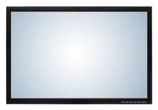 Affichage d'ordinateur ou affichage à cristaux liquides TV Photographie stock libre de droits