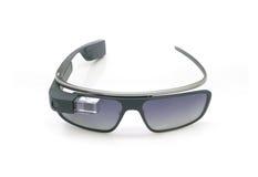 Affichage d'ordinateur portable en verre de Google photo stock