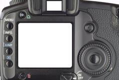 Affichage d'un appareil photo numérique Photographie stock libre de droits