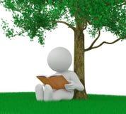 Affichage d'un livre Images stock
