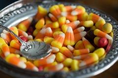Affichage de bonbons au maïs Image libre de droits