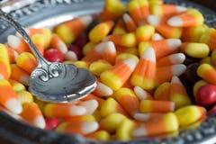 Affichage de bonbons au maïs Photos libres de droits