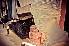 Affichage de boutique de vintage Photos stock