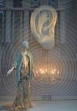 Affichage de fenêtre au bon homme de Bergdorf dans NYC Images libres de droits