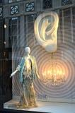 Affichage de fenêtre au bon homme de Bergdorf dans NYC Photographie stock