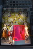 Affichage de fenêtre au bon homme de Bergdorf dans NYC Photographie stock libre de droits