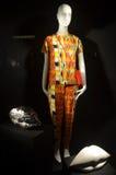 Affichage de fenêtre au bon homme de Bergdorf dans NYC Image stock
