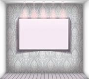 Affichage de fenêtre de boutique de vecteur Image stock