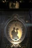 Affichage de fenêtre de Tiffany Photos stock
