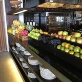 Affichage de fruits d'Apple de nourriture Images libres de droits