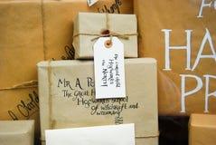 Affichage de librairie à Norwich, Angleterre Photo stock