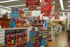Affichage de magasin de détail de maison et de Bath Images stock