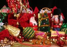 Affichage de Noël Photo libre de droits