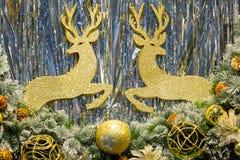 Affichage de Noël Image libre de droits