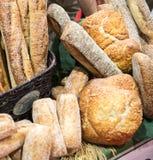 Affichage de pain d'artisan Image stock