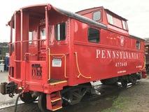Affichage de train au train de vapeur d'Essex dans le Connecticut Photographie stock