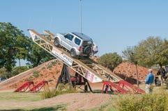 Affichage des capacités des véhicules 4x4 Photos stock
