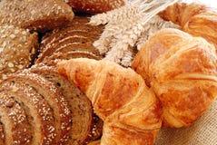Affichage divers de pain Photos libres de droits