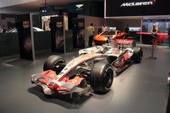 Affichage du Salon de l'Automobile de Dubaï NOVEMBER-14-2011 Mclaren Image stock