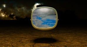 Affichage environnemental de réalité illustration libre de droits