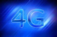 affichage intelligent du téléphone 4G Images stock