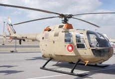Affichage statique de Bell 105, Bahrain Airshow 2012 Image libre de droits