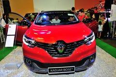 Affichage tout-neuf de Renault Kadjar Bose pendant le Singapour Motorshow 2016 Photographie stock