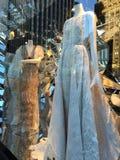 Affichages de fenêtre de vacances au bon homme de Bergdorf à New York Photo stock