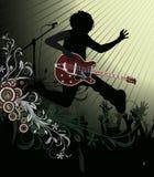 Affiche abstraite de concert de vecteur. Musique PO illustration de vecteur