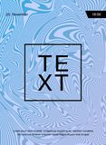 Affiche avec le modèle géométrique de marbre Fond Texture de marbre Peignez l'éclaboussure Fluide coloré Il peut être employé pou photos stock