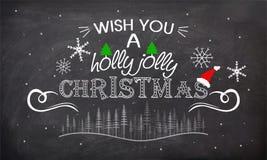 Affiche, bannière ou insecte pour la célébration de Noël Photo stock