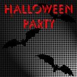 Affiche d'écran de Halloween Photo stock