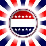 Affiche d'élection illustration de vecteur