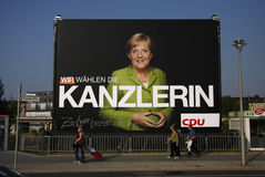 Affiche d'élection Photographie stock libre de droits