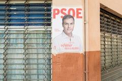 Affiche d'élections de l'Espagne 2015 Photo libre de droits