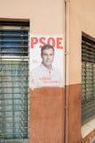 Affiche d'élections de l'Espagne 2015 Photographie stock libre de droits