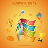 Affiche d'affaires Image libre de droits