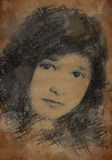 Affiche d'Alexandra Images libres de droits
