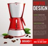 Affiche d'appareils de cuisine de ménage illustration de vecteur