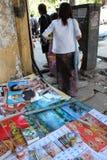 Affiche d'Aung San Suu Kyi image libre de droits