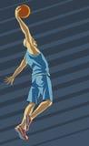 Affiche de basket-ball illustration libre de droits