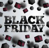 Affiche de Black Friday illustration de vecteur