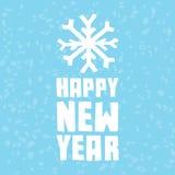Affiche de bonne année Image stock